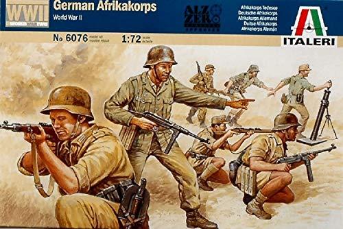 Italeri 6076S  - Segundo África del Cuerpo de la Primera Guerra Mundial Deutsch