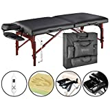 Master Massage Montclair Therma Top Portable Massage Table Package with Memory Foam