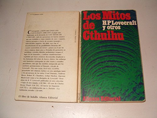 Los Mitos de Cthulhu (Spanish Edition) [Spanish] 8420611948 Book Cover