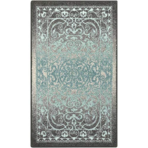 Maples Rugs Pelham Vintage Kitchen Rugs Non Skid Accent Area Carpet [Made in USA], 2