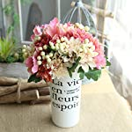 Artificial Silk Fake Flowers Leaf Rose Floral Wedding Bouquet Party Home Decor