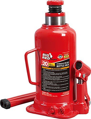 Torin Big Red Hydraulic Bottle Jack, 20 Ton (40,000 lb)...