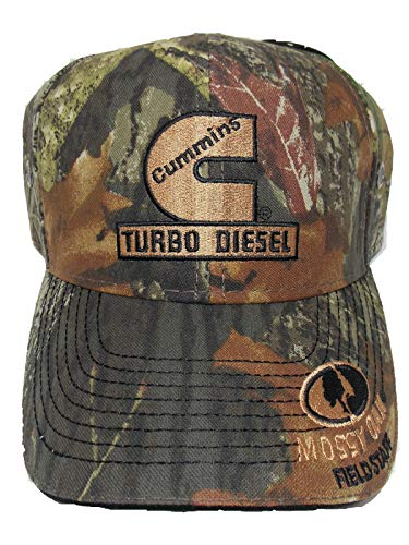 Cummins Turbo Diesel Camouflage Hat (New Logo Color 2019)