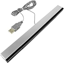 USB Wired Infrared Wii Motion Sensor Bar Receiver for Nintendo Wii, Wii U & PC
