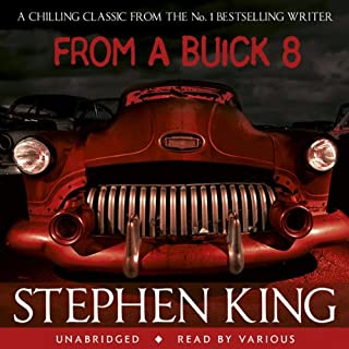 From a Buick 8                   By:                                                                                                                                 Stephen King                               Narrated by:                                                                                                                                 James Rebhorn,                                                                                        Bruce Davison,                                                                                        Becky Ann Baker,                   and others                 Length: 13 hrs and 19 mins     113 ratings     Overall 4.1