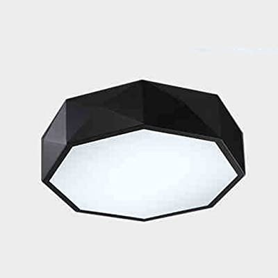 saiufg Polygon geométrica - Lámpara LED de techo 24 W ...