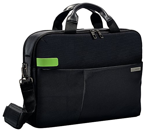 Leitz Business Laptop Tasche 15.6 Zoll, Geeignet für Laptop oder Ultrabook, Smart Traveller, Complete, Schwarz, 60160095