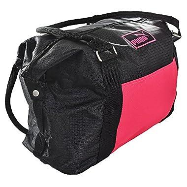 PUMA Women's Evercat Jane Tote/Duffel Black/Pink One Size