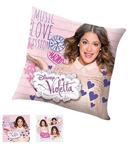 Unbekannt Kissen mit Disney Violetta Motiv 40x40 cm