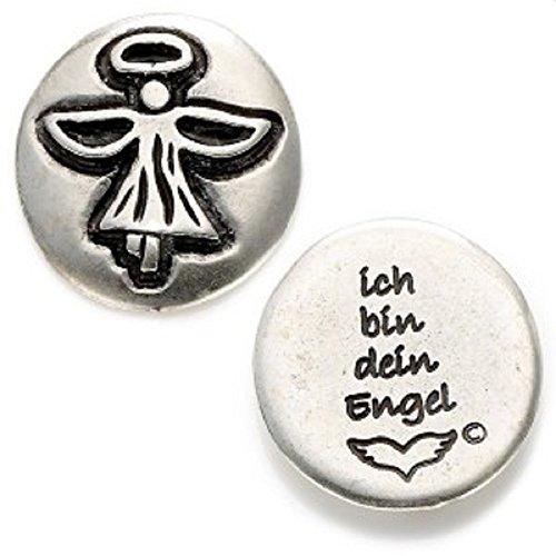 paletti Talisman Engel-Münze | Text 'ich Bin Dein Engel' | Angels Welcome Schutzengel