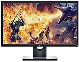 Dell SE2-417HGX 23.6 Inch TN, Anti-Glare, LED-Backlit Gaming Monitor (Black), 1 MS Reponse Time, FHD (Full HD 1920 x 1080) at 60 Hz, Thin Bezel, 2xHDMI, VGA, Tilt and AMD Radeon FreeSync, 24