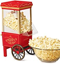 Nostalgia OFP-501 Old Fashioned Popcorn Machine, 1040 W, 120 V, 12 Cup, Red