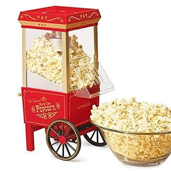 Nostalgia OFP-501 Old Fashioned Popcorn Machine 1040 W 120 V 12 Cup Red