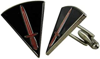 Military Style Cuff Links Pair