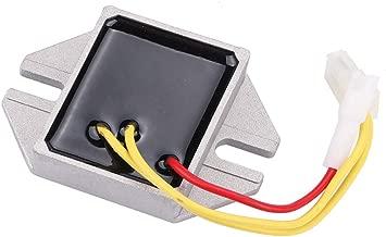 MIU14388 Voltage Regulator for John Deere GT235E GT235 LA140 LA150 LA155 LA165 LA175 D150 D155 D160 D170 125 135 145 155C 190C Engine LG691185 MIU12514