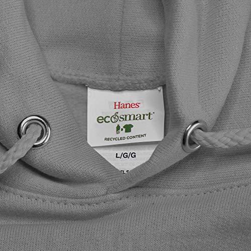 Hanes Men's EcoSmart Fleece Sweatshirt, Black, Large