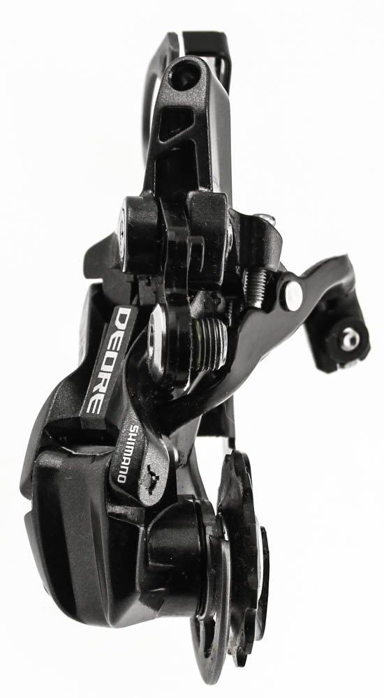 Grey//Black Shimano Deore RD-M593 SGS Long Cage Rear Mech 10 Speed Shadow