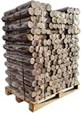 1000kg Premium Holzbriketts Nestro Hartholz Briketts aus Buche & Eiche Kamin Ofen Heiz Brikett Brennholz Heizbrikett 100 x 10kg / 1000kg Palette ersetzt ca. 4-5 Ster Hartholz Energie Kienbacher