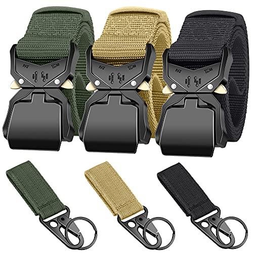 Ginwee 3-Pack Tactical Belt,Mili...