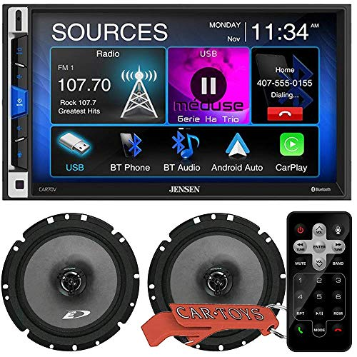 "Jensen CAR70V 7"" Digital Media Receiver Music Lover"