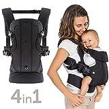 Fillikid - Ergonomische Babytrage/Kindertrage 4in1 - Bauchtrage, Rückentrage,...