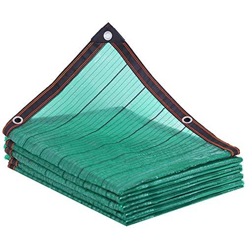 CYOUL-LI Cortina de Tela Sombra del pabellón sombreado Neto Parasol Vela Verde 80% de Sombra Sombra Tasa Neta UV Resistente 6 Puntadas Balcón Jardín Almacén (Color : Green, Size : 4X7M)