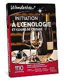 wonderbox - coffret cadeau vin - initiation a l'œnologie et cours de cuisine – 1110 cours