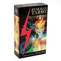 Starman Tarot EGuideブック付きの完全英語版のタロットデッキEinstructionカードゲーム占いゲームは運命予測カードゲームを設定します