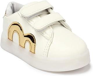 Walktrendy Unisex Kid's 4.5-5 Years Sneakers-11.5 UK EU (12.5 US) (wty942_Gold_30)