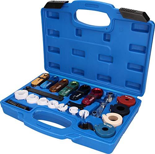 Brilliant Tools BT531050 Jeu d'Outils pour déverrouillage des conduites | 22 pcs, Bleu/Noir, TLG