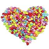 Colorato Acrilico Perle 450pcs 12mm Perline Artigianali Perline di Plastica per la Creazione di Gioielli, Oggettistica per la Casa, Braccialetto per Bambini, Collana, Ciondolo