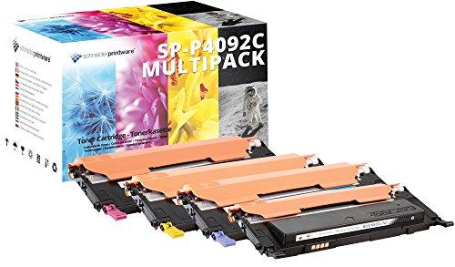 4 Schneider Printware Toner | mit 100% höhere Leistung | kompatibel , ersetzen CLT-K4092S, CLT-C4092S, CLT-M4092S, CLT-Y4092S, für Samsung CLT-P4092C CLP-310 CLP-310N CLP-315 CLP315W CLX-3170 CLX-3175FN CLX-3175FW CLX-3175 CLX-3170FN