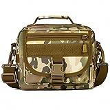 (フェニックス一輝) Phoenix Ikki 両用 Molleモール対応バッグに装着可能 全6色 迷彩 耐水素材 アウトドア ショルダーバッグ タクティカル 肩掛けバッグ 軍事的 手提げバッグ CP迷彩