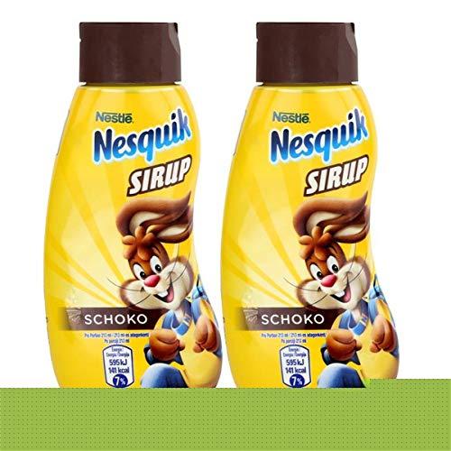 Nestle Nesquik Schoko Sirup 300ml - Extra schokoladig im Geschmack (2er Pack)