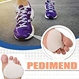 Pedimend Gel Front Forefoot Metatarsal Sole | Men Shoe Padding Half Inserts | Pressure Relieving Pads | Ball of Foot Soft Cushion | Mortons Neuroma Running Support | Rapid Pain Relief for Sore Feet