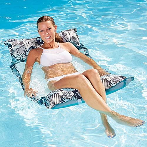 FANIER Aufblasbares Schwimmbett, XL...
