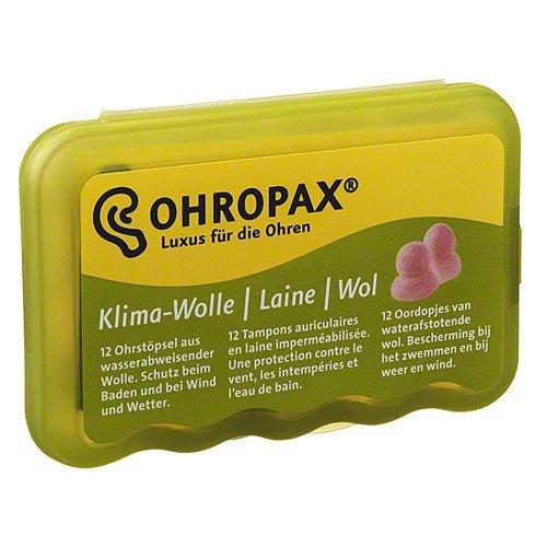 OHROPAX Klima Wolle, 12 St