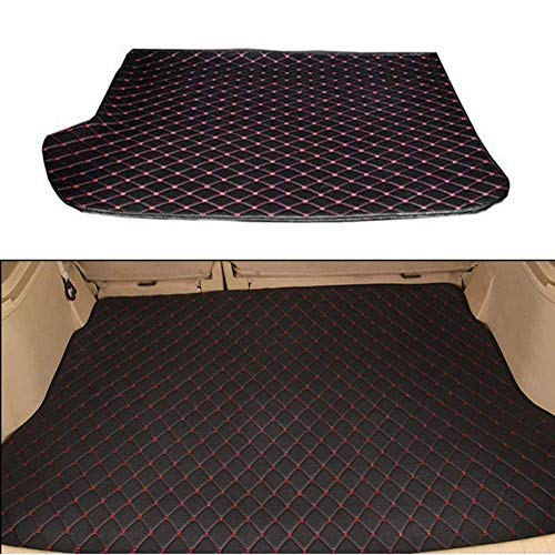 BNHHB Car Boot Mats Liner Tray for M-ercedes-Ben z GLK Class 2012-2016, Leather Auto Boot Mat Dust-proof Anti-scratch Mat Tailored Cargo Storage Protector Pad Rear Trunk Foldable Carpets