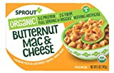 Sprout Organic Toddler Meal Butternut Mac and Cheese Macaroni Pasta In A Butternut Squash, Cheese...