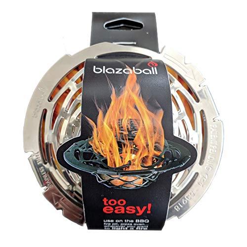 Blazaball Gitterball, Anzündhilfe für Grill, Pizzaofen, Lagerfeuer und Kamin