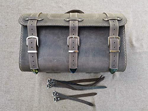 Thor Packtasche von Orletanos kompatibel mit Sissybar Harley Davidson Gepäckrolle Quad Trike Yamaha Suzuki Honda Kawasaki Fatboy Heritage Koffer Gepäckträger Rolle HD