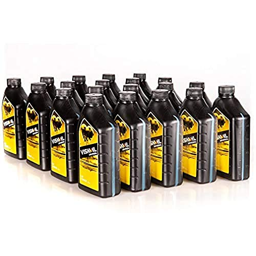 20x1 Litro Olio Motore Minerale 15w40 Viskoil Per Motori Benzina Diesel