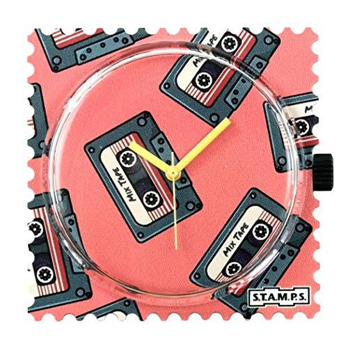 S.T.A.M.P.S. Stamps Uhr Zifferblatt Yesterday