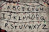 Theissen Stranger Things R, U, N póster, Multi-Colour - Matte Poster Frameless Gift 28cm x 43cm)*IT-00236