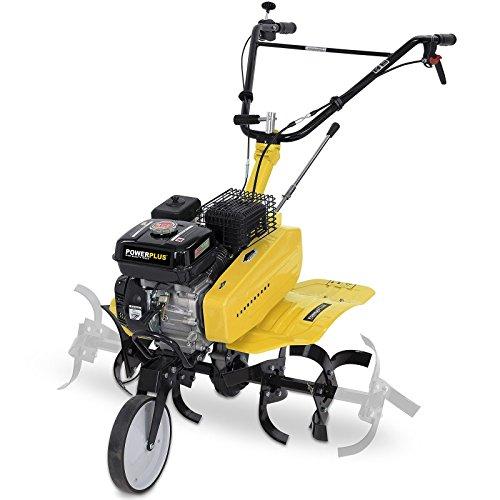 POWERPLUS POWXG7217 - Motocultor 208cc + arado