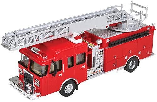 échelle H0 - Truck Pompier avec Grande echelle