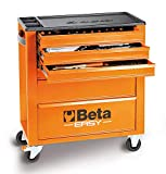 Cassettiera Beta Easy C24E/VI assortimento 182 utensili + carrello officina