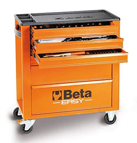 Cassettiera Beta Easy C24E/VI assortimento 182 utensili + carrello officina
