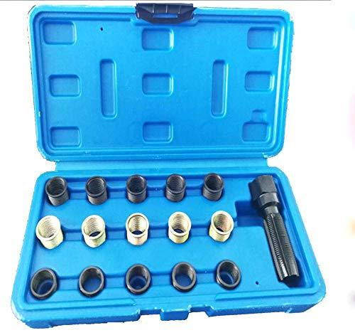 Hycy M14 X 1,25 16 Stücke Zündkerze Gewinde Gewinde Reparatur Rethreading Set Kit