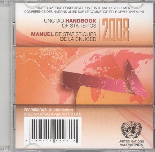 UNCTAD Handbook of Statistics 2008/ Manuel De Statistiques De La CNUCED 2008